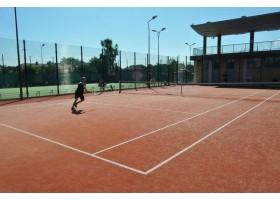 Zdjęcia kortów tenisowych