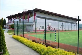 Zdjęcie hali sportowo-widowiskowej
