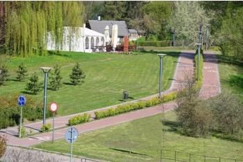 Zdjęcie ciąg parku