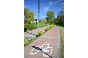 Ciąg pieszo-rowerowy wParku Piszczele